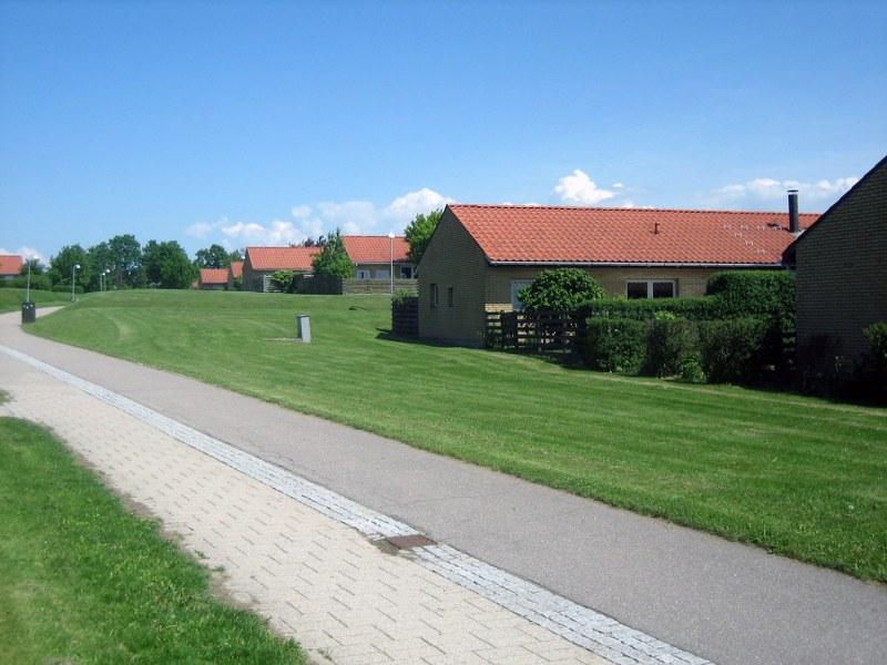 Nivåpark set fra Kirkestien